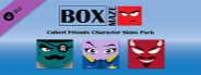 Box Maze - Cubert Friends Skins Pack