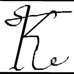 Icon for letter k