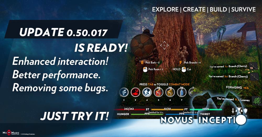 Novus Inceptio :: 0 50 017 - 023 - Enhanced interaction