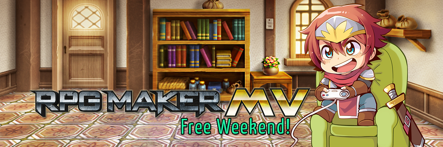 RPG Maker MV :: Steam Free Weekend plus Steam Workshop Beta Now Live!
