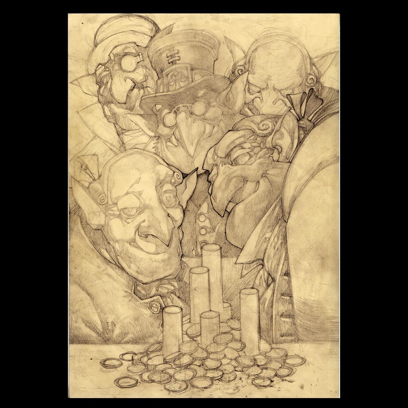 Gremlins Concept Art