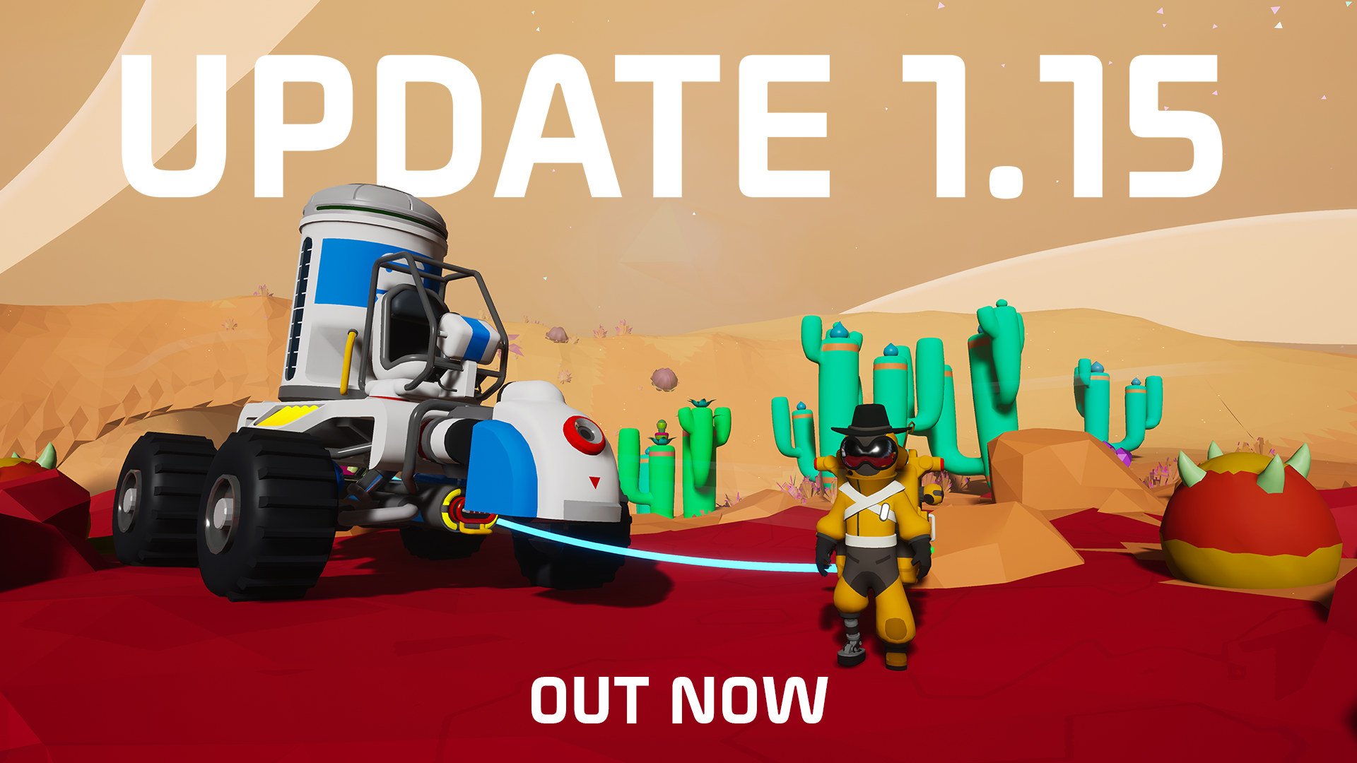 Update 1.15 is Live!