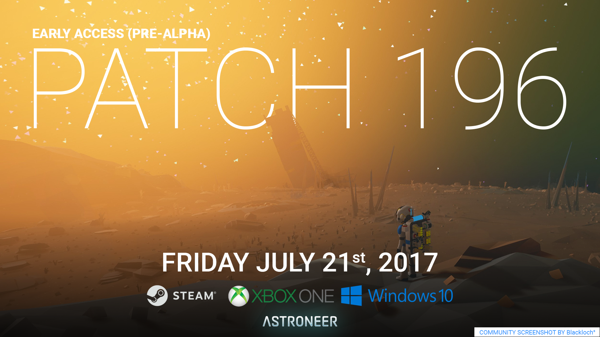 ASTRONEER :: Patch '196' is out!