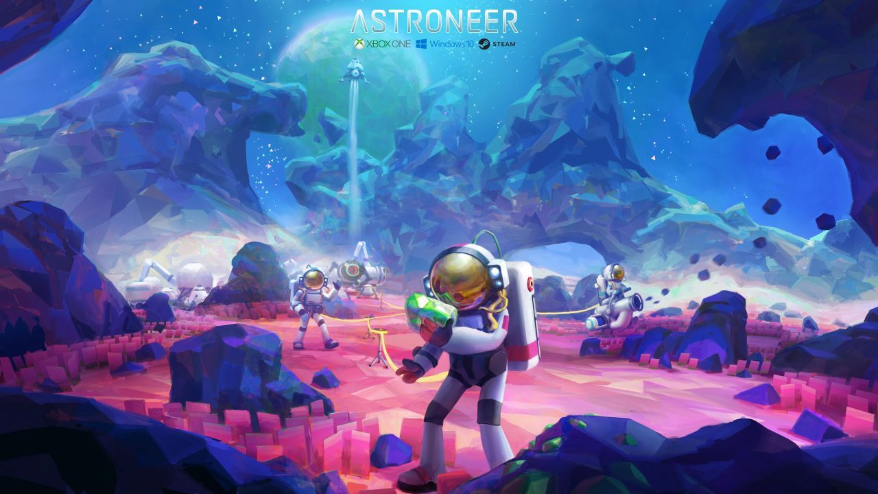 Steam Astroneer Two 1440p Astroneer Wallpapers