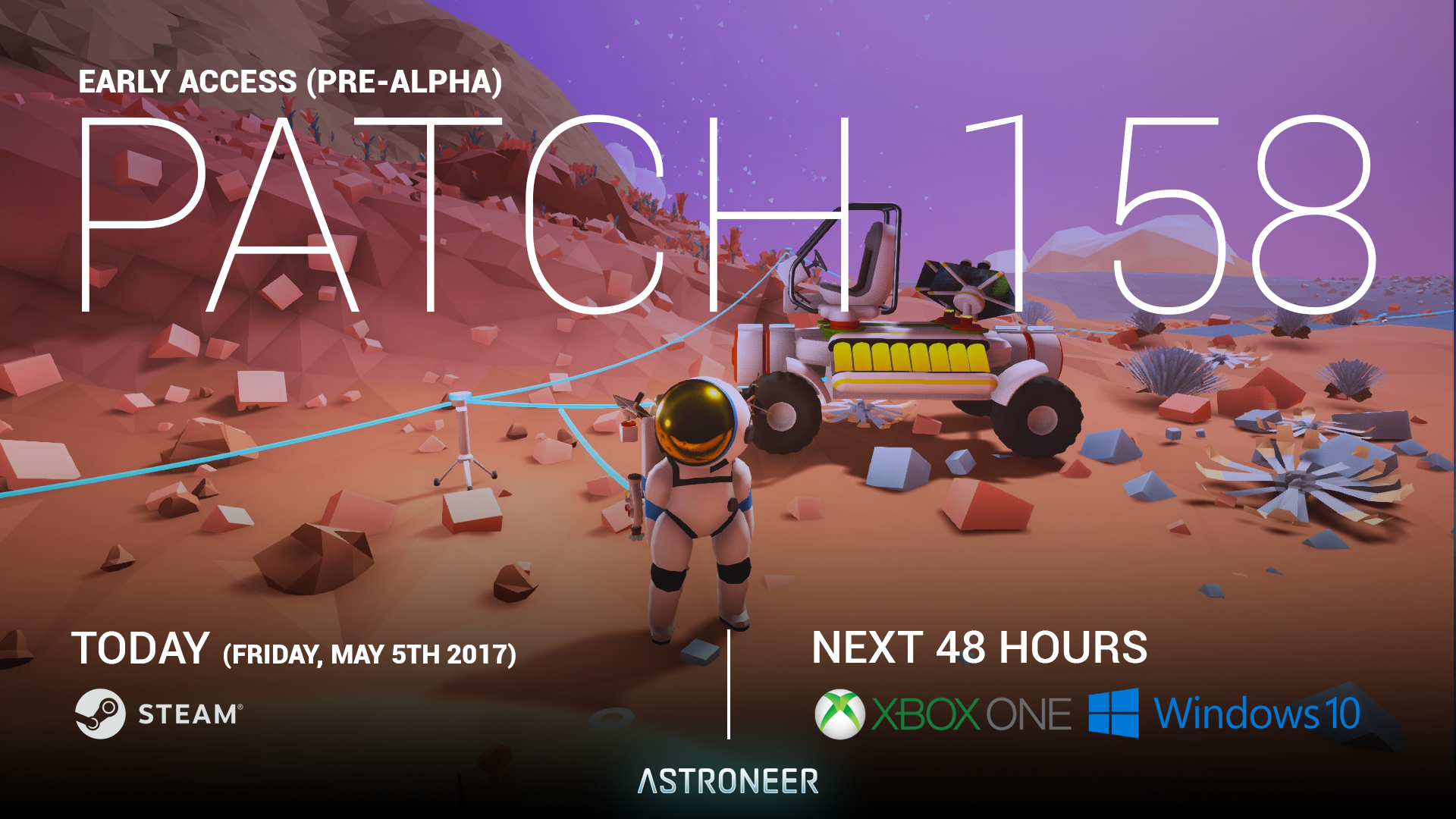 ASTRONEER :: 'Patch 158' is out