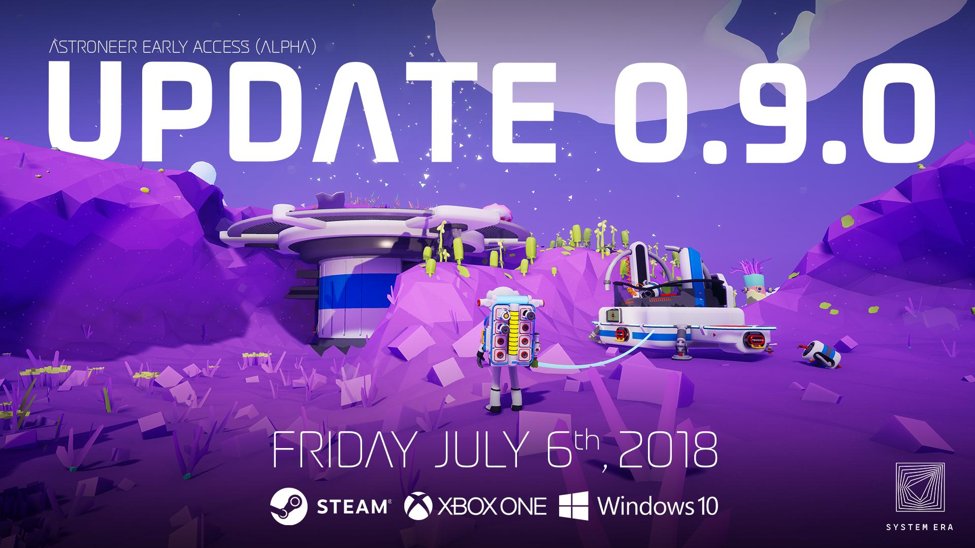 Steam :: ASTRONEER :: Update 0.9.0 is live!