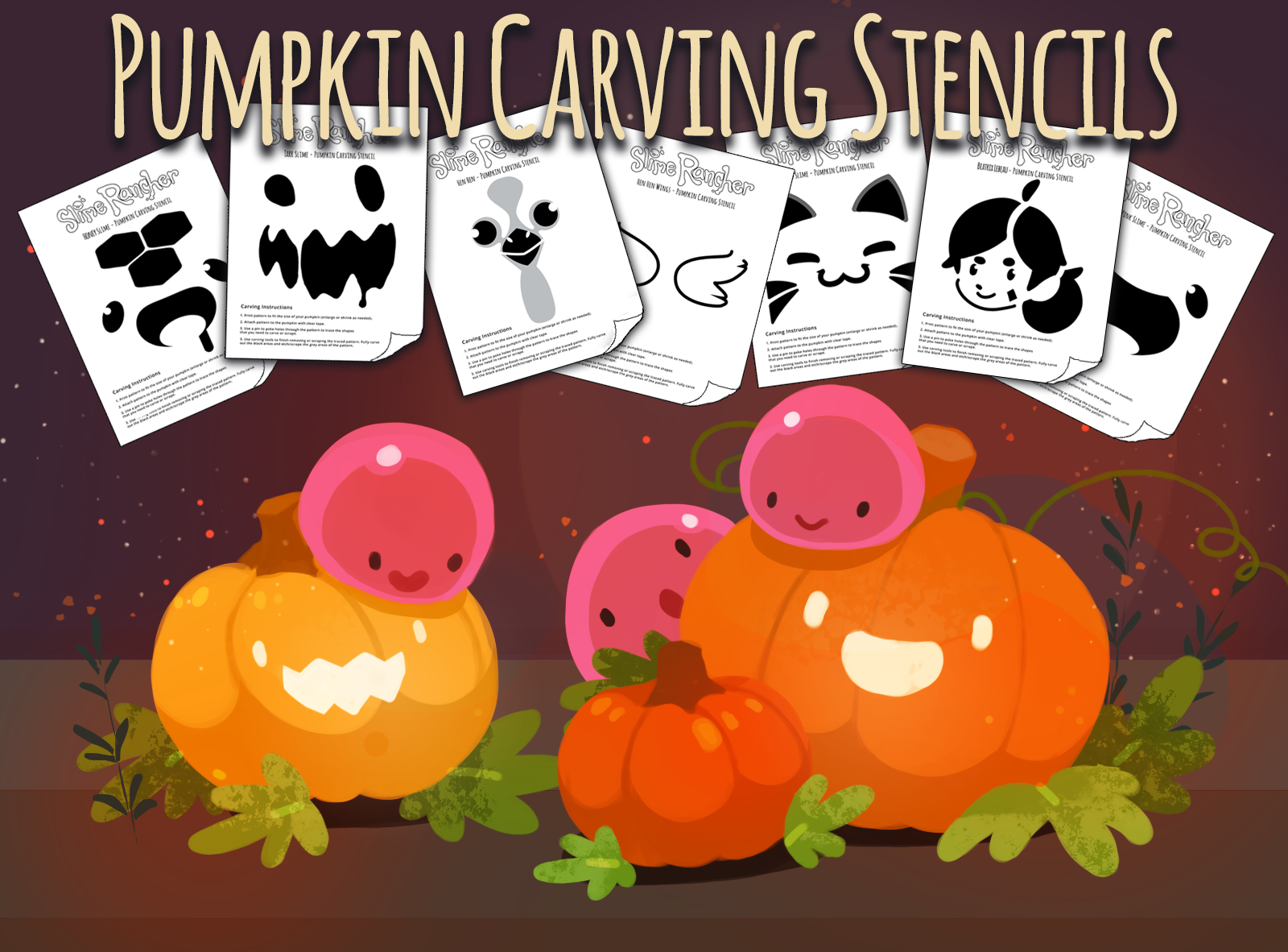 2020 Pumpkin Carving Stencils Are Here!