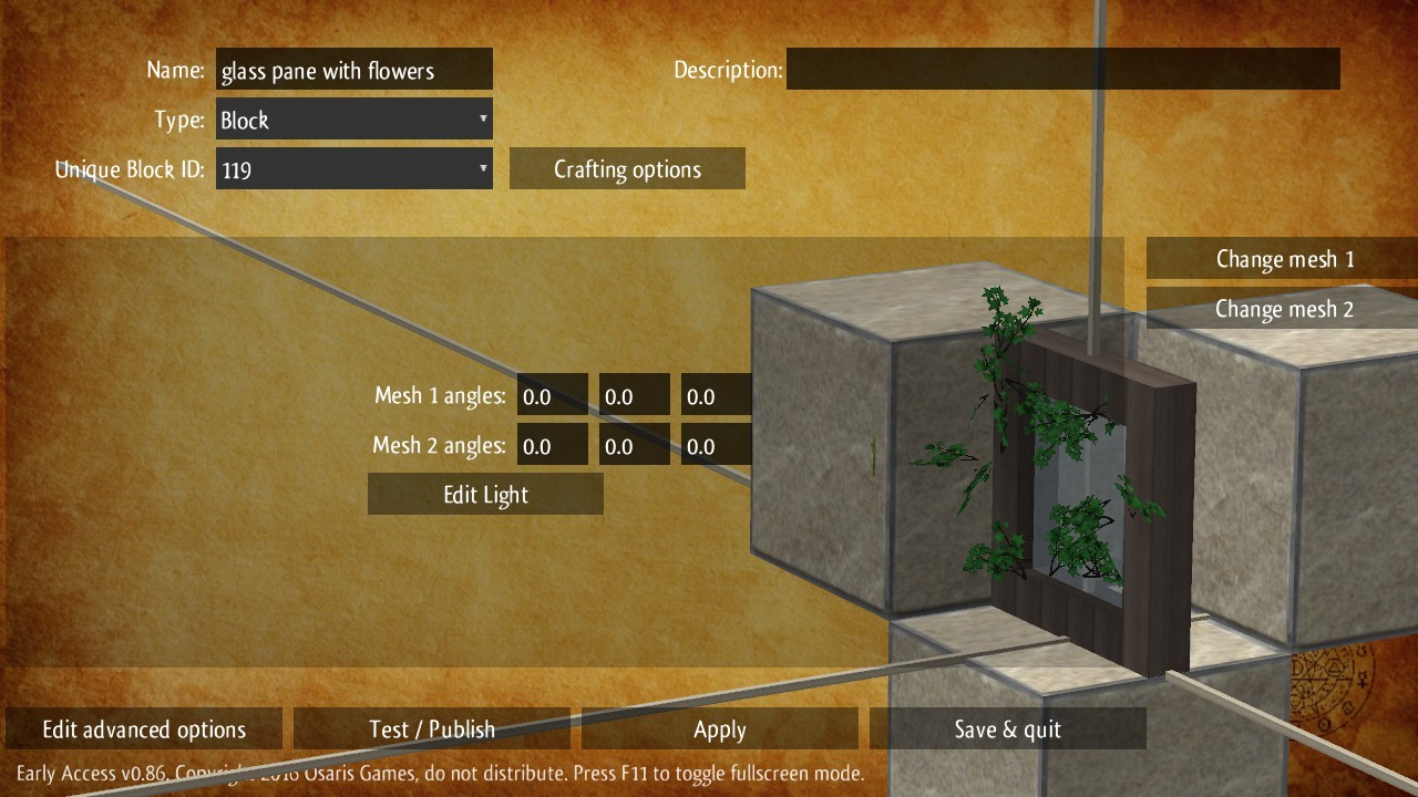 Alchemists Awakening 086 Create Adventure Maps Block Diagram Games You Can Now Custom Which Be Placed And Broken Exactly Like Normal Blocks In The Game They Contain A Mixture Of All Elements Including