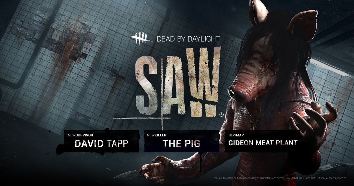 Dead by Daylight :: the Saw Chapter is now available on Steam!