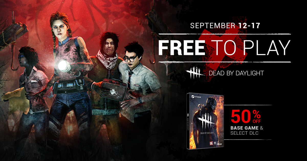 dead by daylight free weekend 2018