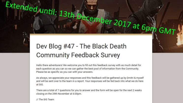 We Said Would Be Closing Our Feedback Survey Today At 6pm However Have Made The Decision To Extend This For A Further 2 Weeks