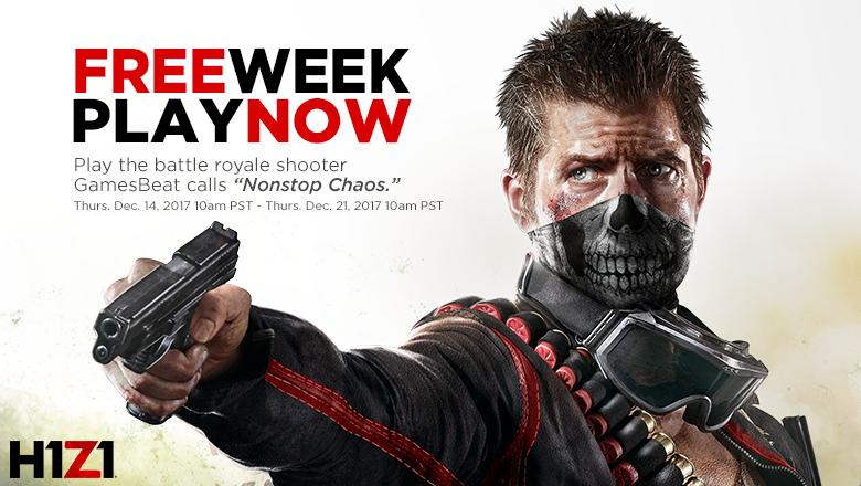 Z1 Battle Royale :: H1Z1 Free Week Has Arrived!