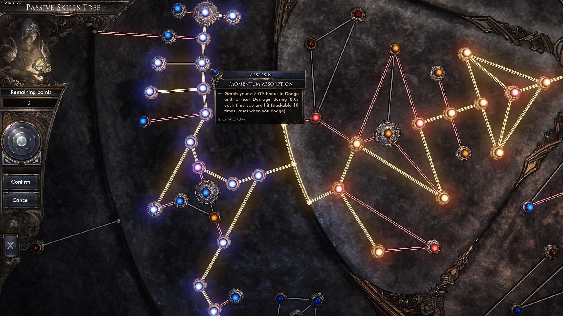 Work in Progress : New Passive Skills Tree ! | Wolcen