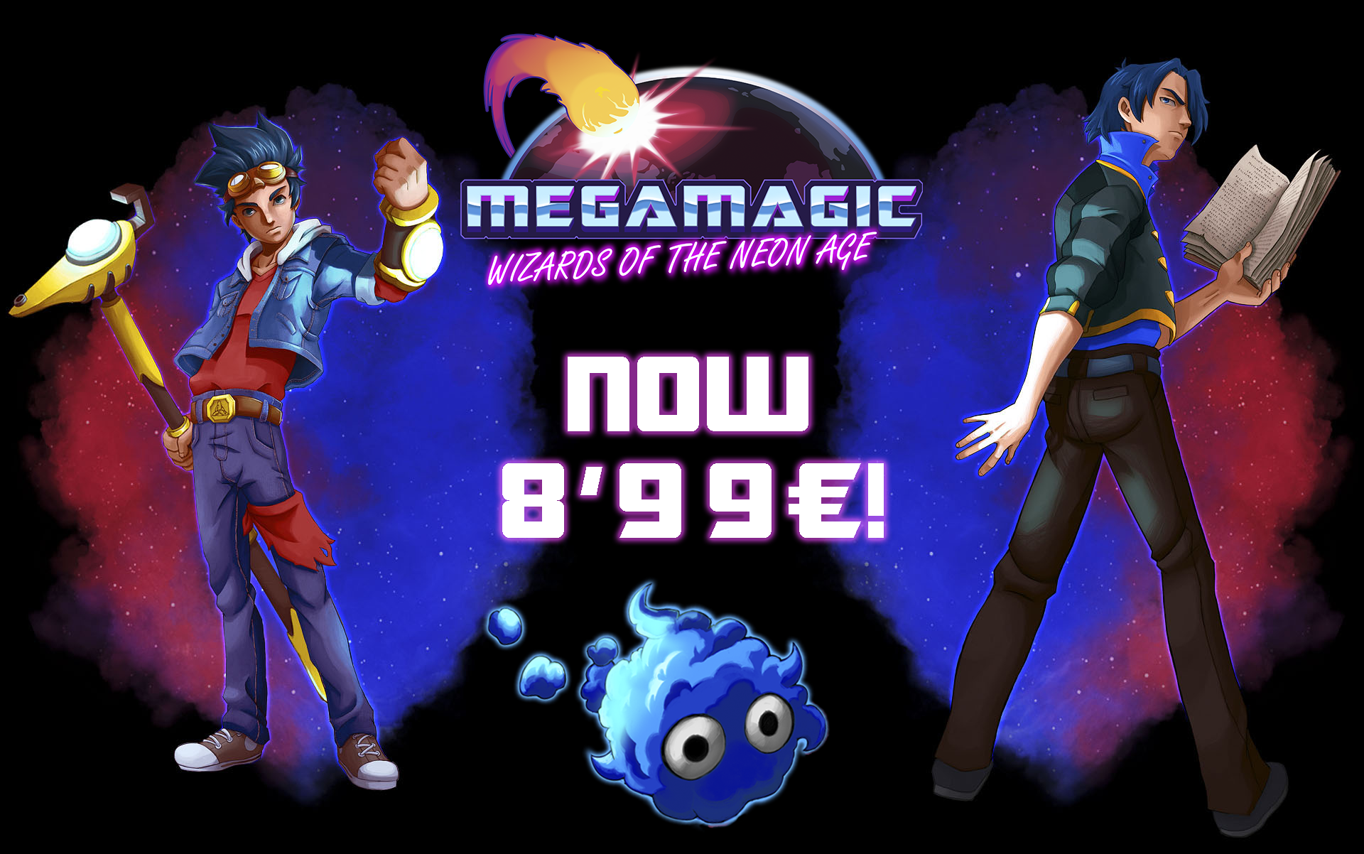 Megamagic Wizards of the Neon Age Megamagic now for 8 99€ 9 99