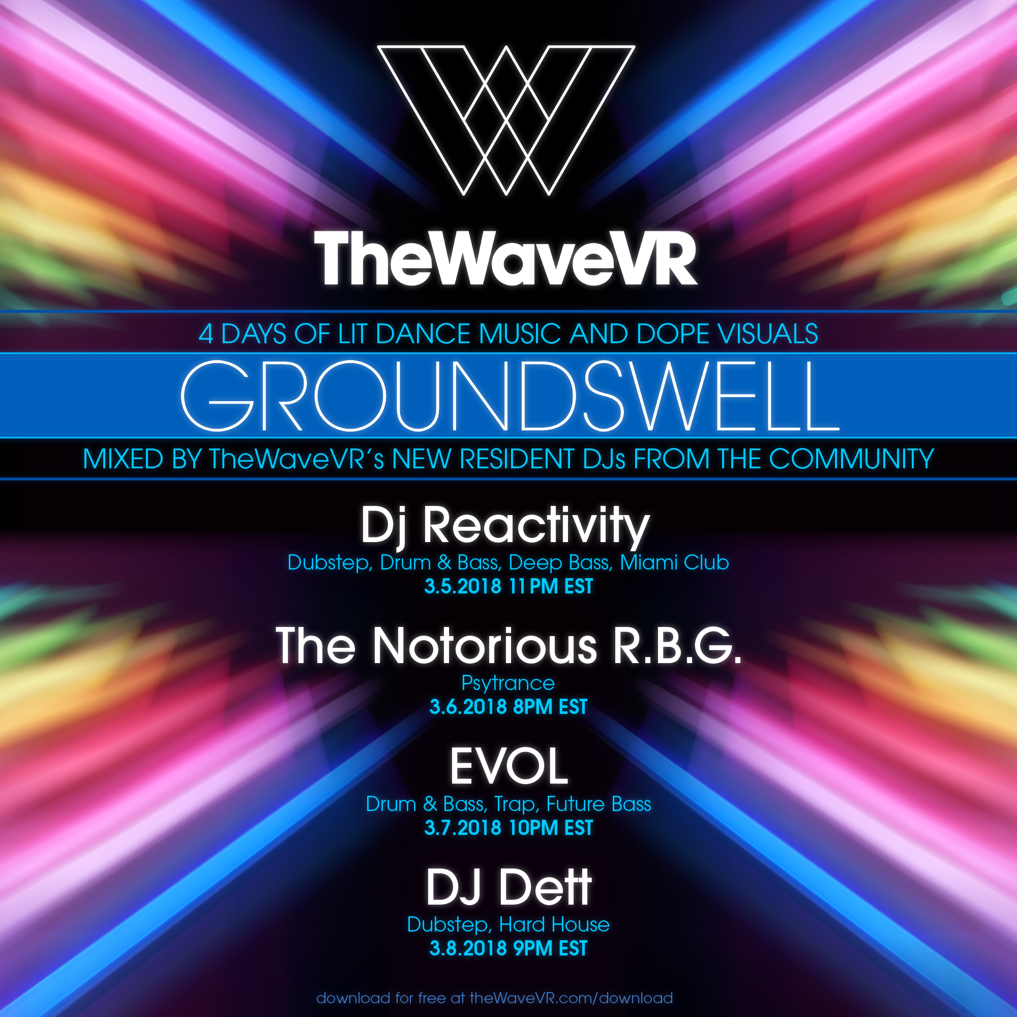Wave :: TheWaveVR Presents: Resident DJ Program