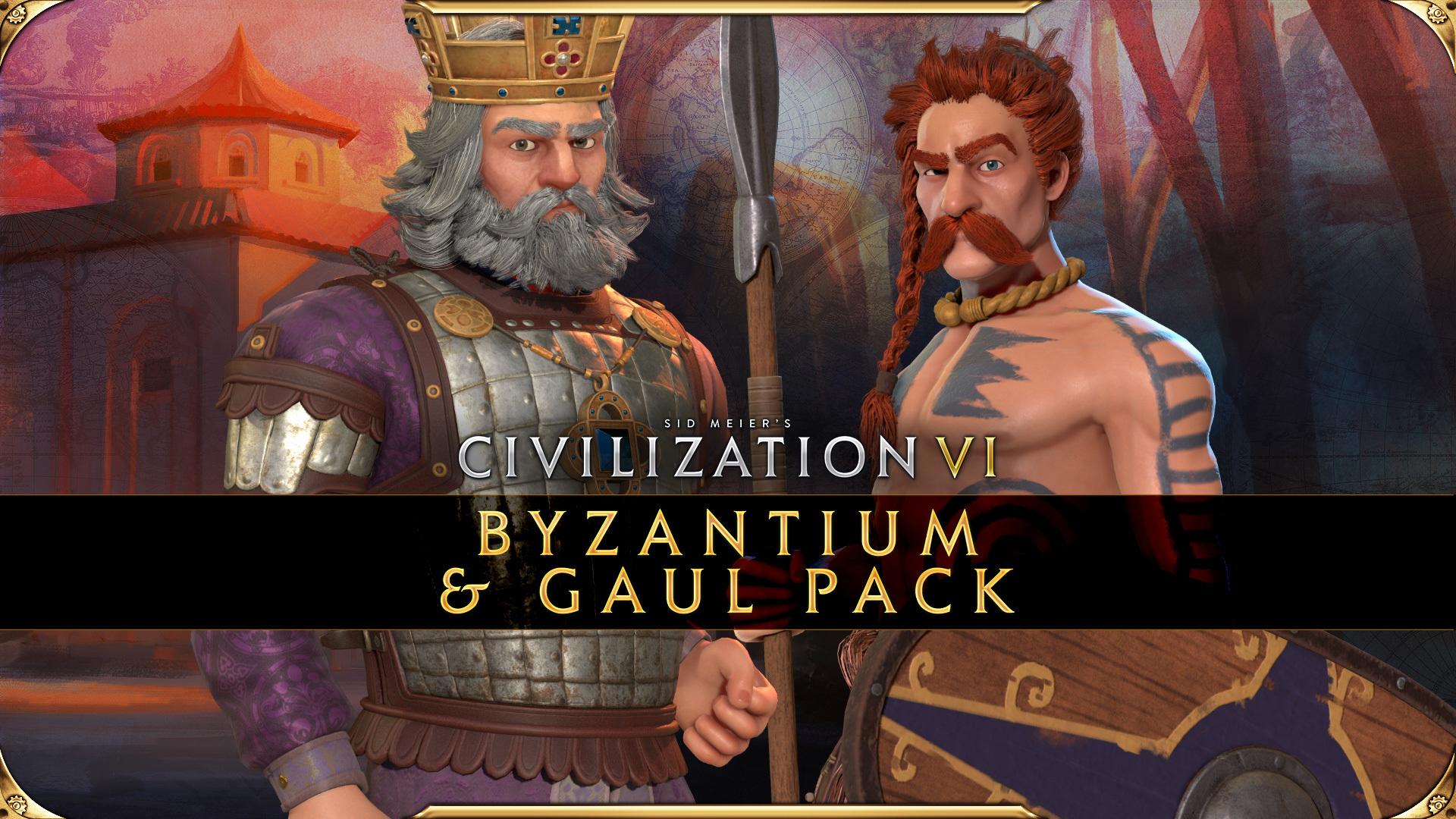 Civilization VI - Byzantium & Gaul Pack Available Now