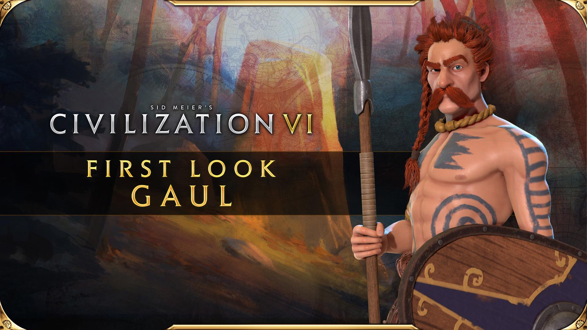 Civilization VI - First Look: Ambiorix Leads Gaul