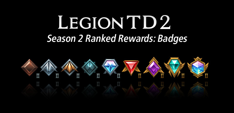 ranked badges