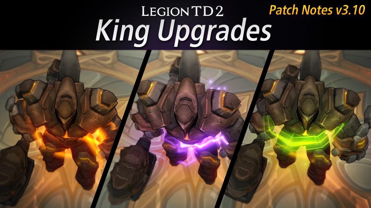 Jan 18 v3 10: King Upgrades Legion TD 2 - AutoAttackGames