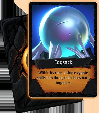 Eggsack card