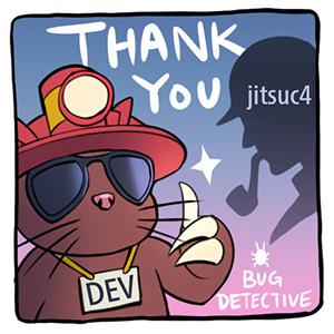 Thank you jitsuc