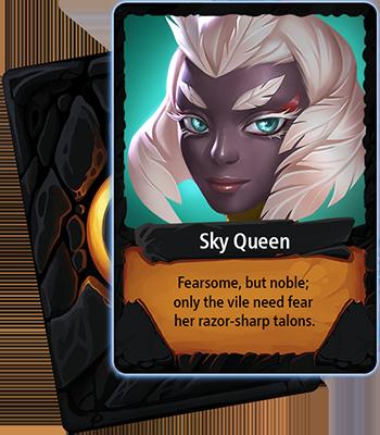 Sky Queen card