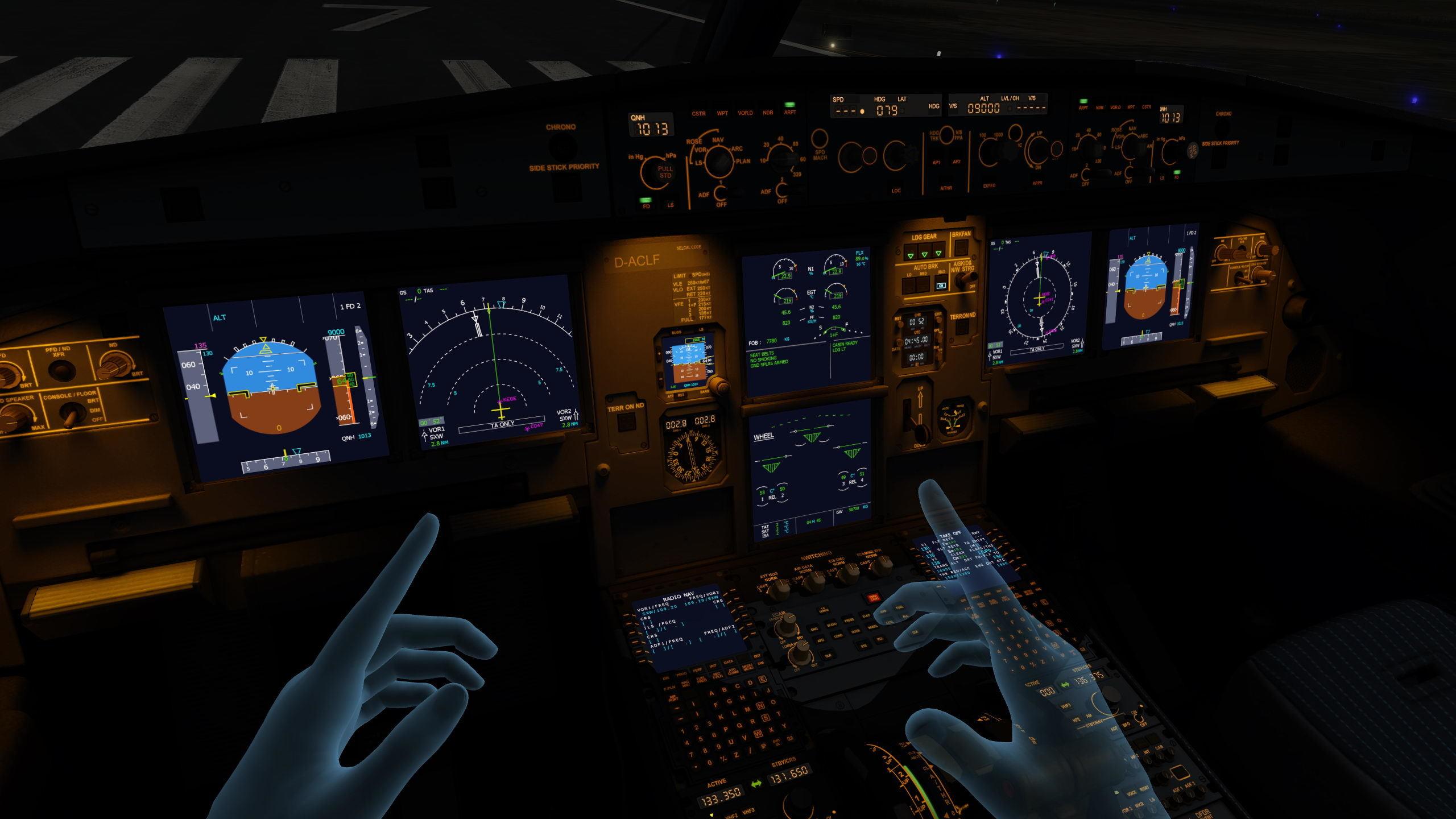 Aerofly FS 2 Flight Simulator :: Aerofly FS 2 VR Hands Have