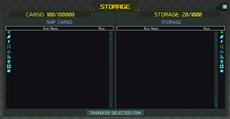 storage UI