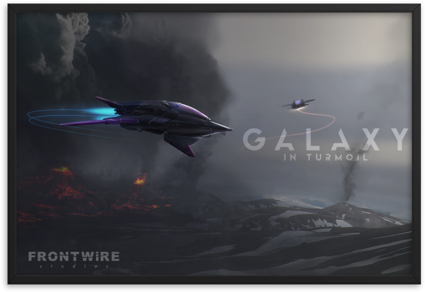 Dec 20, 2018 Galaxy in Turmoil - Holiday Poster Giveaway