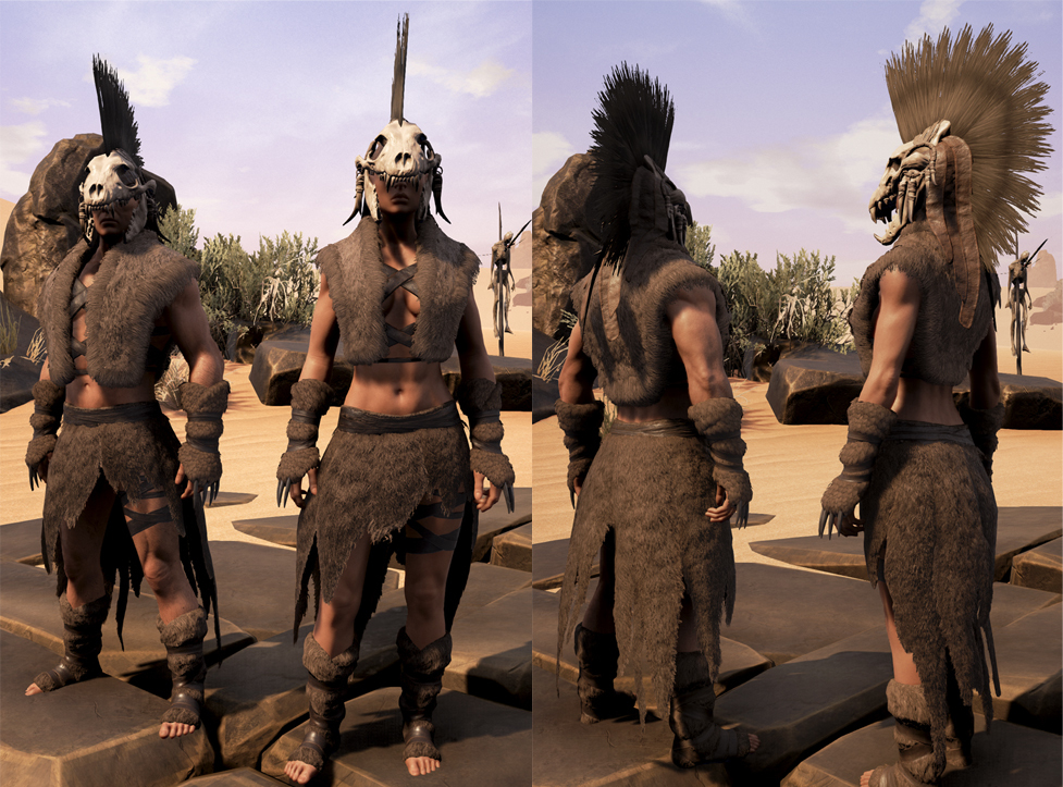 Conan Exiles Isle Of Siptah New Stormglass Building Set Tier 3 Preview Youtube