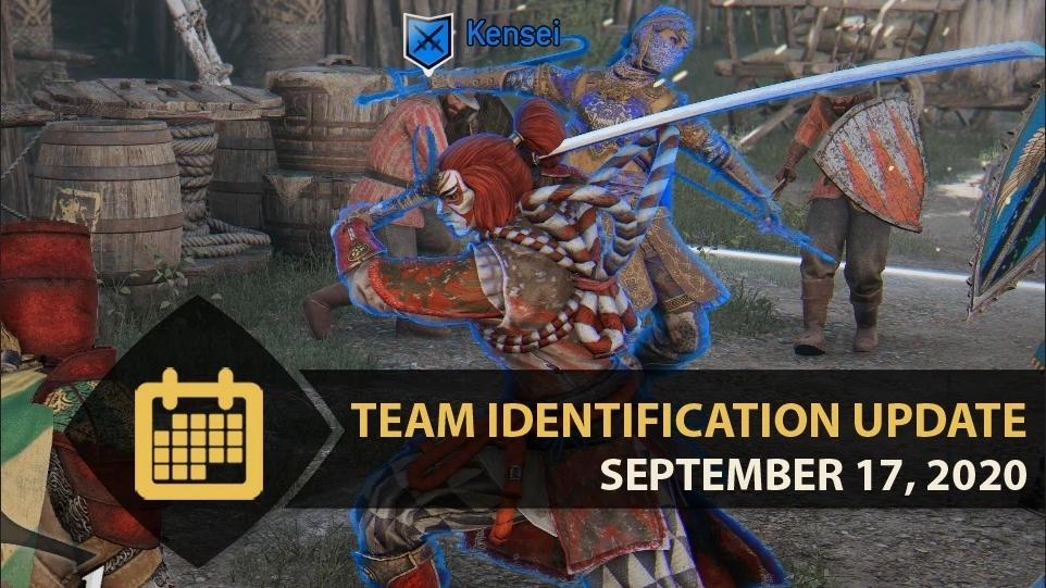 TEAM IDENTIFICATION UPDATE