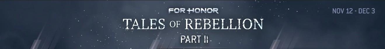 Tales Of Rebellion - Part II