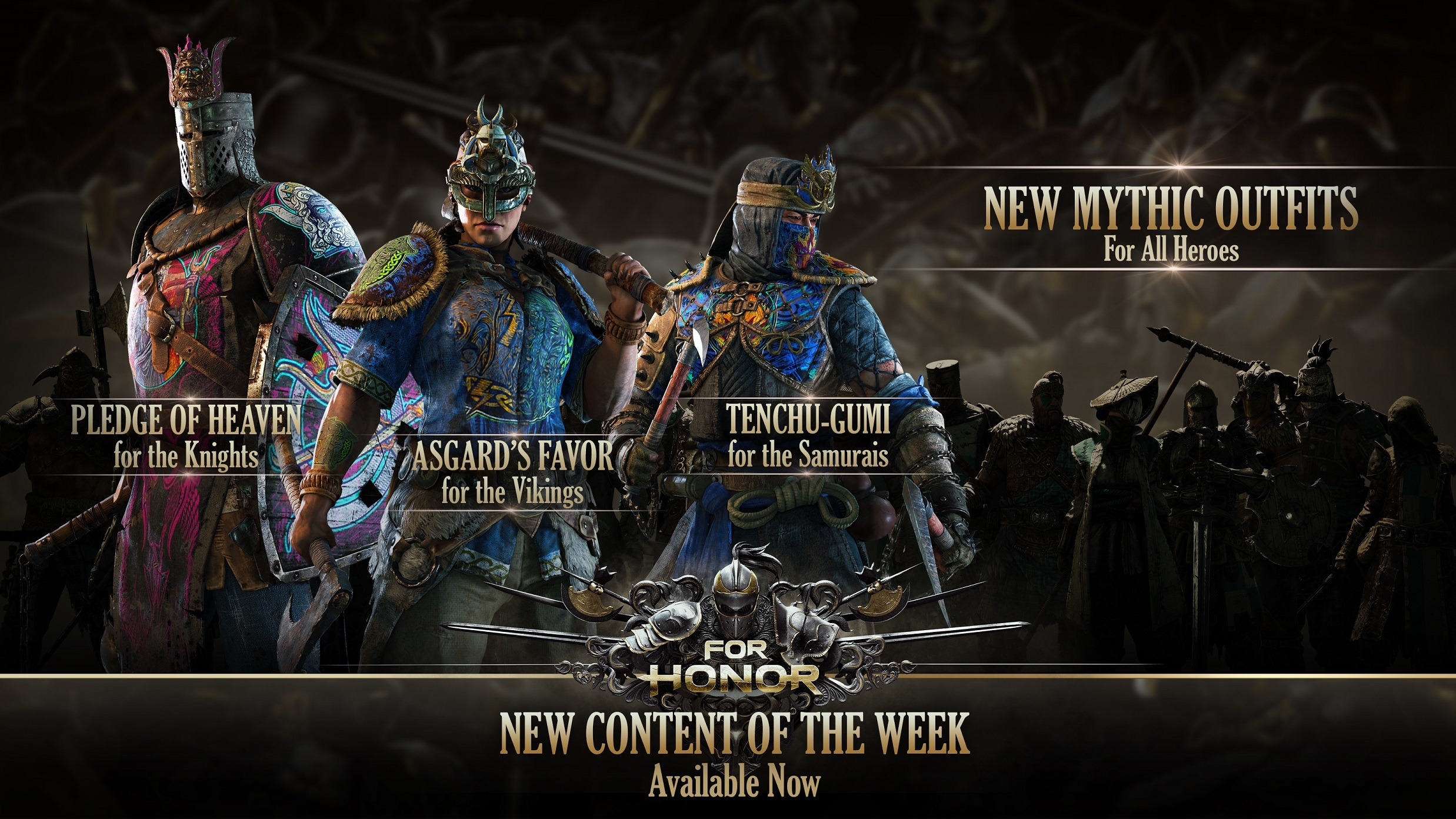 For Honor For Honor New Content Of The Week April 26