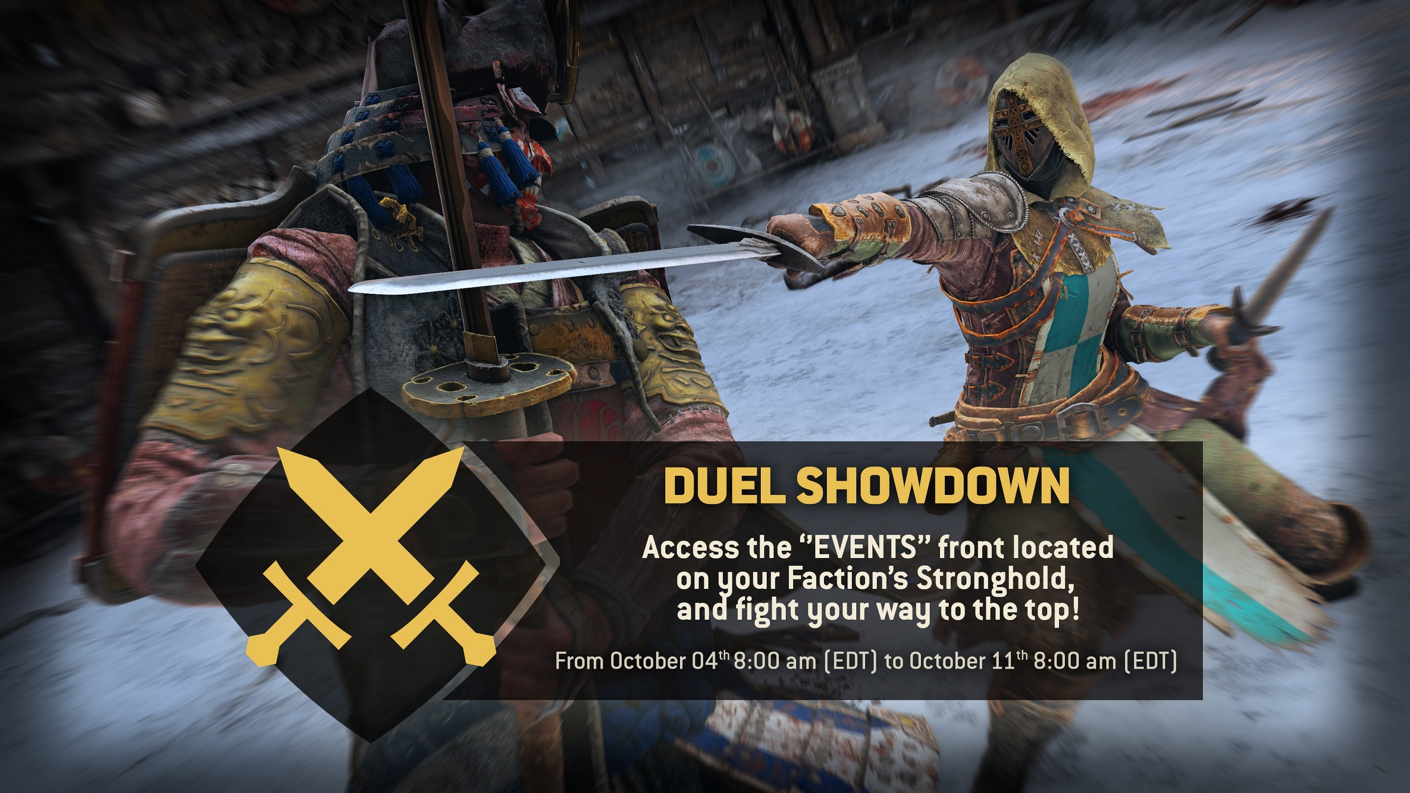 matchmaking time for honor