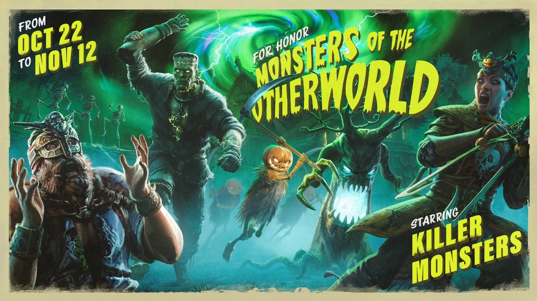 MONSTERS OF THE OTHERWORLD