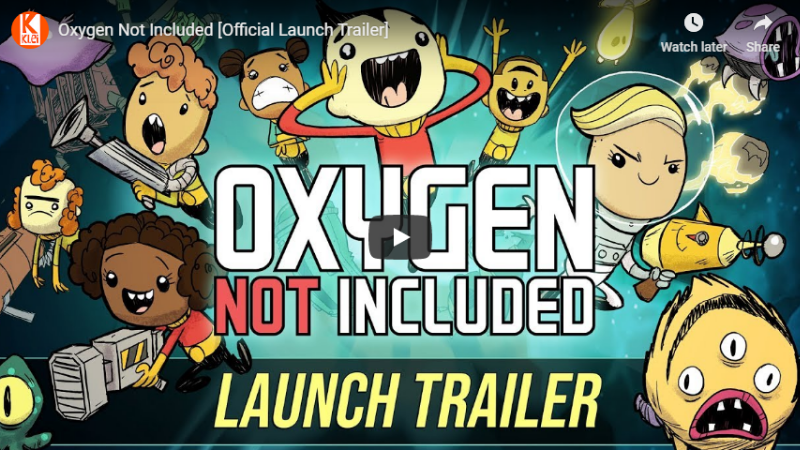 Oxygen Not Included :: Oxygen Not Included Has Launched!! - [Updated