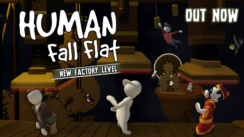 Human: Fall Flat - New Human: Fall Flat 'Factory' is out now on ...