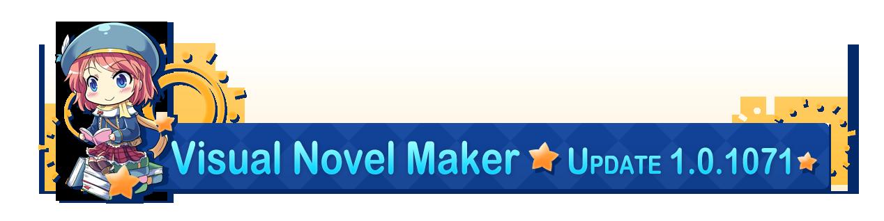 Mar 10, 2018 VN Maker v1 0 1071 Visual Novel Maker - Archeia Hello