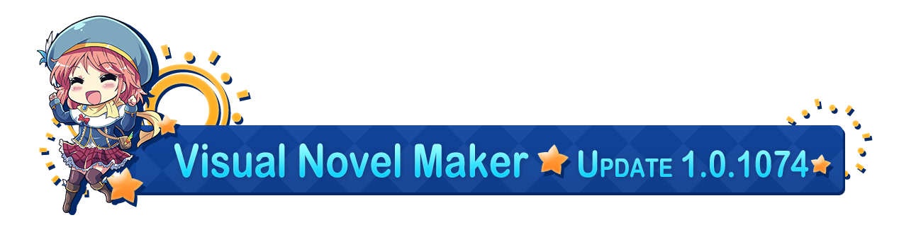 Visual Novel Maker :: Group Announcements
