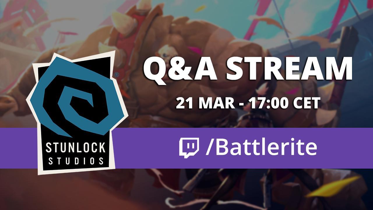 Mar 22 Community Weekly: Watch our QA Stream now