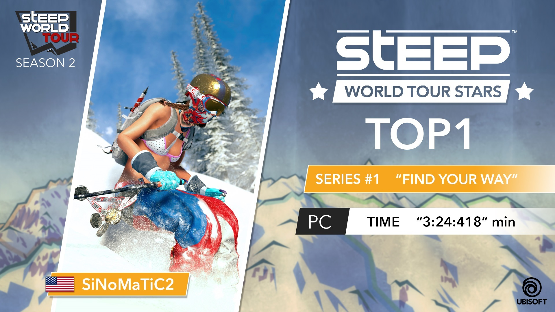 Sep 6 2017 Steep World Tour Own The Sky Winners Game Ps4  Reg 3 Season 2 Series 1 Just Ended Here You Can Find A Few Words From Pc Rider Who Won It