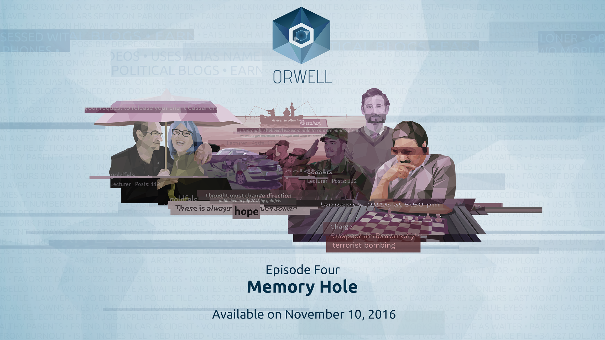 Orwell :: Episode 4 released!