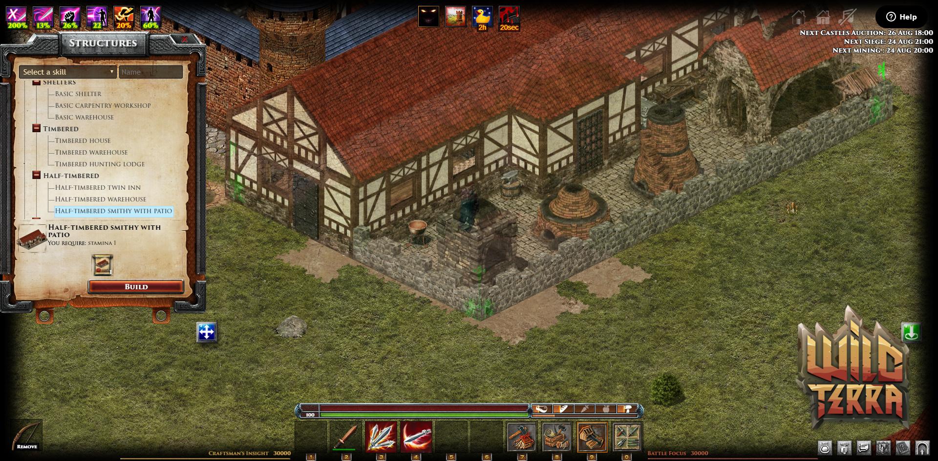 Wild Terra Online :: Update 8 35  Turnkey ready built Homes