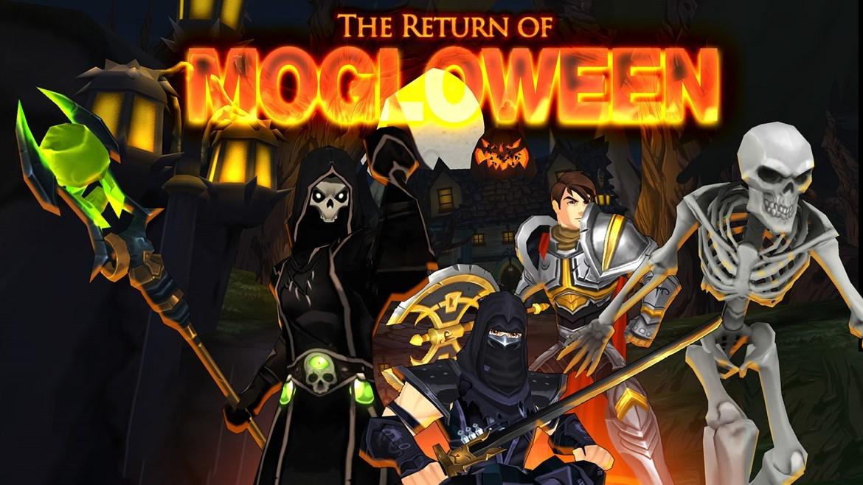AdventureQuest 3D :: Mogloween Begins! Paladin & Necromancer released