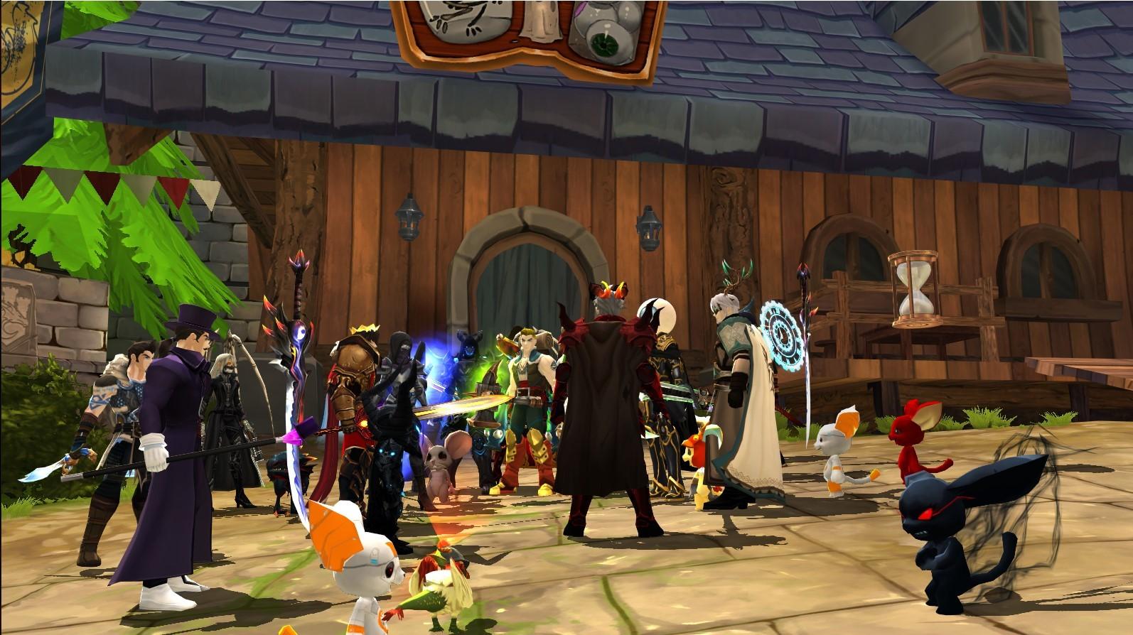 AdventureQuest 3D :: Anuncios del grupo