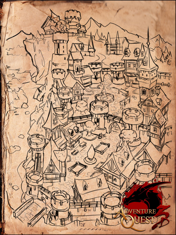 AdventureQuest 3D :: Kingdom of BattleOn (Concept Art)
