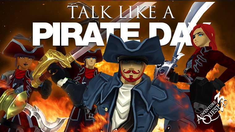 Talk Like a Pirate Day 2017 - AdventureQuest 3D