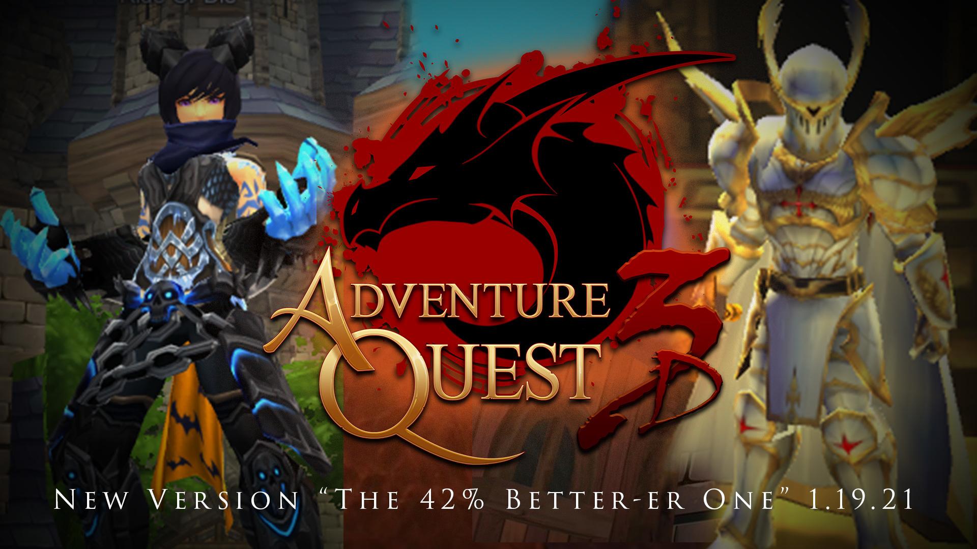 AdventureQuest 3D :: Group Announcements
