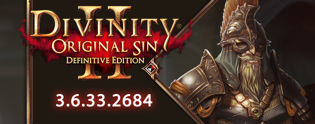 Divinity: Original Sin 2 :: Update 3 6 33 2684 - New recipes and