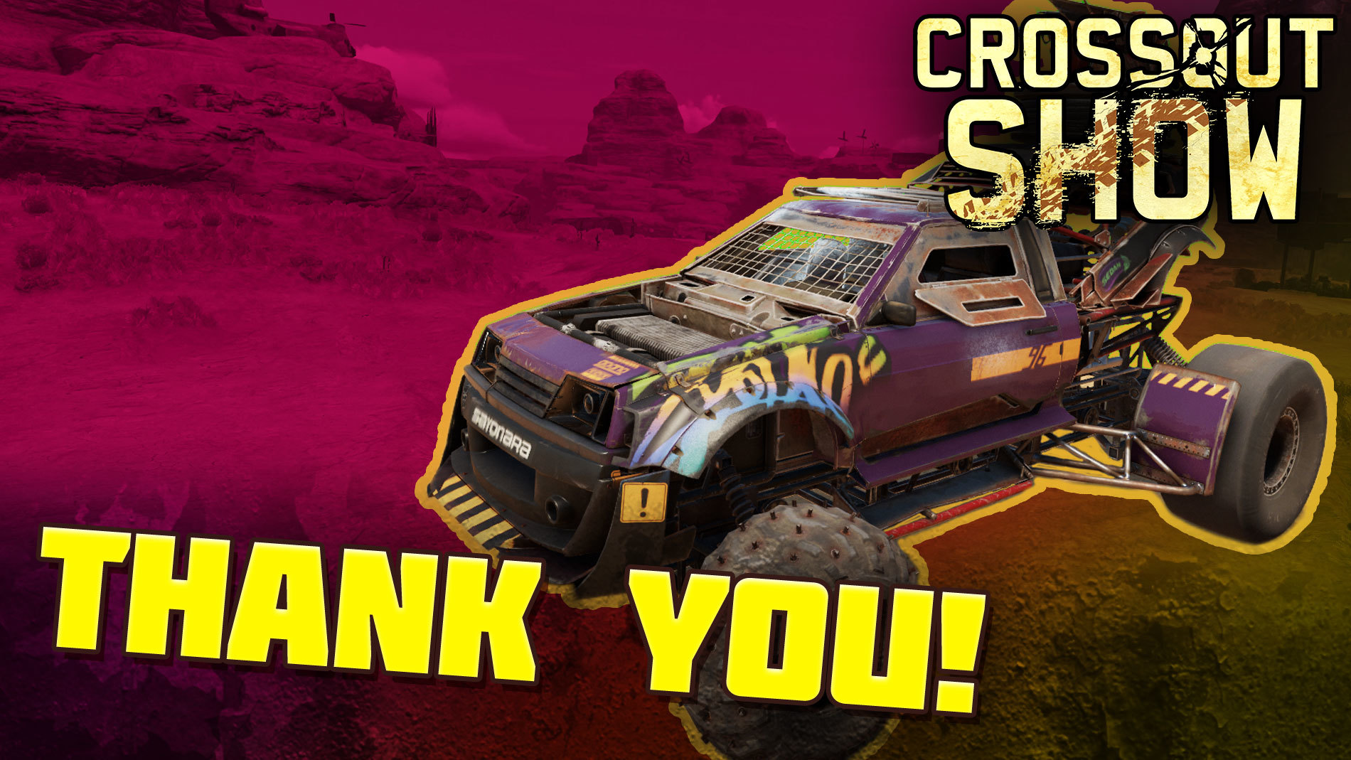 [Video] Crossout Show: Thank you!